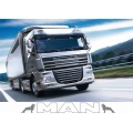 MAN truck Sunvisor internal or external windscreen stickers