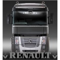 Renault cab screen stickers