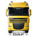 DAF truck Sunvisor internal or external windscreen stickers