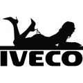 Iveco truck screen and body stickers
