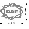 tribal decal daf crown